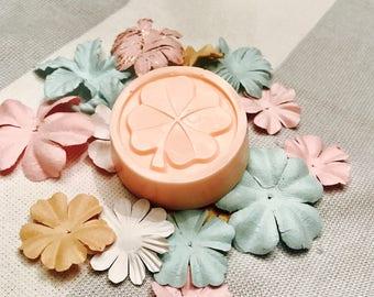 Handmade Soaps- Lucky Four Leaf Clover