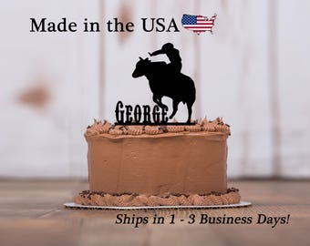 Rodeo cake topper Etsy