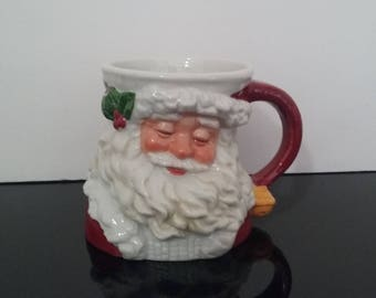 Vintage 1991 Possible Dreams - Santa Claus Face Mug