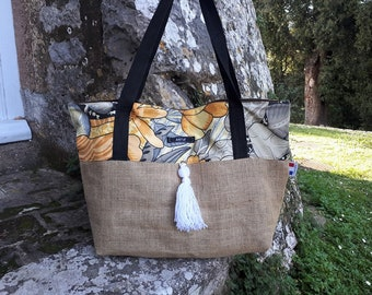 Small spring: tote bag