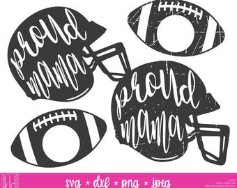 4 Proud Mama svgs - Football Mom svg - Football Helmet svg - Football Mom Shirt Design - Football svg - Football Monogram