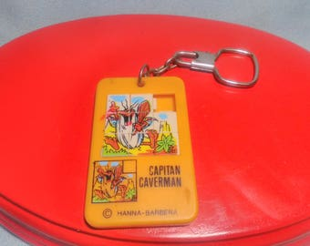 Keychain of the cave captain of Hanna Barbera of the 80s.