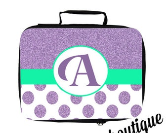 Personalize Letter Lunch Box