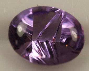 Amethyst 2.12cts One-of-a-Kind Oval cut 9.60 x 7.60mm H7 ov1159 Gemstone Jewelry Making Semi Precious Gemstone