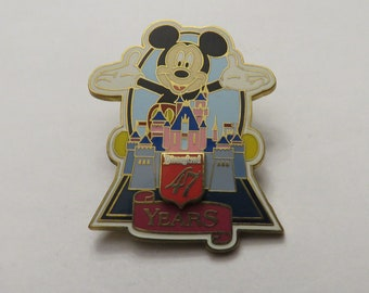 Disney Disneyland 47 Years Mickey Pin