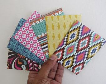 Aztec envelope etsy set of 6 gift card envelopes business card holder mini envelopes reheart Choice Image