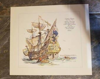 2 Captain Morgan Prints