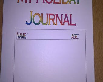 Children's Holiday Journal