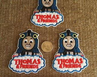 Thomas train applique patch
