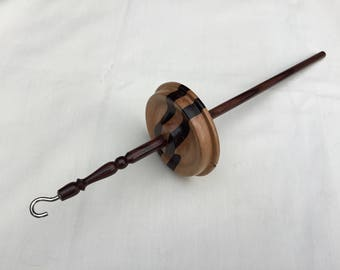 Beech/Rosewood Drop spindle