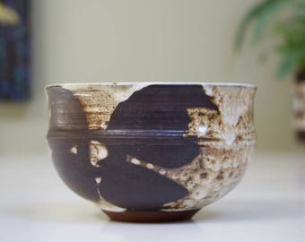 Callander, Scotland: Studio Pottery Bowl, Signed JV