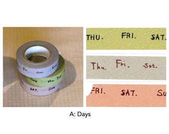 Classiky Washi Tape Set by Inoue Yoko
