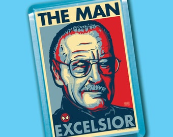 "THE MAN Election 2020 Magnets - 2""x3"" Acrylic refrigerator magnet"
