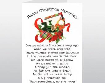 Christmas Memories Card WWXM14