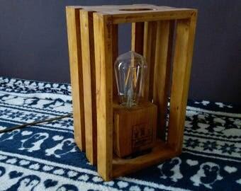 Pallet block lamp