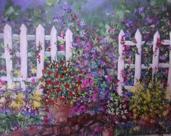 Picket garden