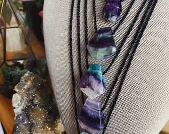 Adjustable Fluorite Pendant