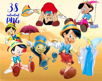 Pinocchio Clipart , Disney Clipart Princess Clipart