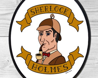 Sherlock Holmes Large Wall Plaque
