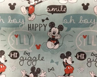 Camelot - 85270301 color 03 - CT 120459- Mickey Mouse- Designer Cotton