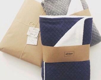 Baby Blanket, Quilt Baby Blanket, Receiving Blanket, Baby Shower Gift, Soft Baby Blanket