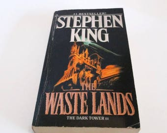 The Wastelands by Stephen King   The Dark Tower 3  Paperback  Sci-Fi