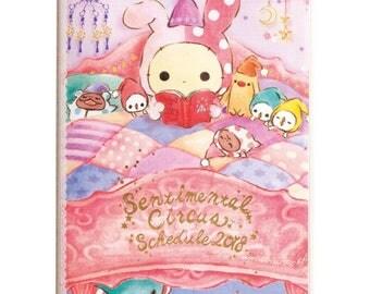 Sentimental Circus Schedule Book 2018 - Agenda  By San-X - Calendrier - A6 Size