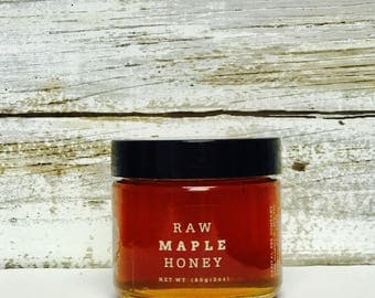 Raw Maple Honey 3oz