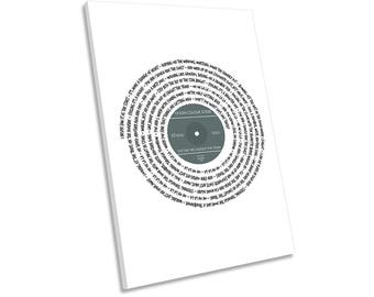 Ocean Colour Scene The Day we Caught the Train Song Lyrics Vinyl CANVAS WALL ART Picture Print