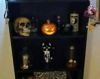 Coffin book shelf
