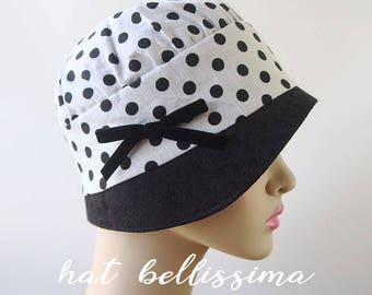 SALE 1920s Cloche Hat  Vintage Style hat hatbellissima Summer Hats