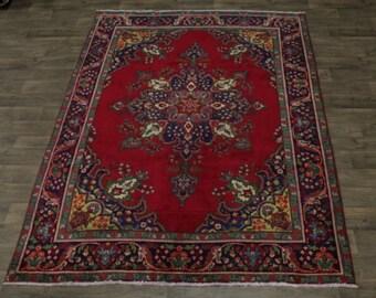 Fantastic S Antique Handmade Tabriz Persian Rug Oriental Area Carpet Sale 7X10
