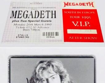 Megadeth Autographed CD x 2