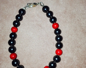 Hemetite 8mm beaded Bracelet