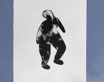 body linoprint
