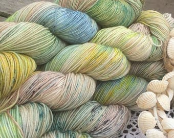 4ply worsted SWM with Nylon Molly Malone