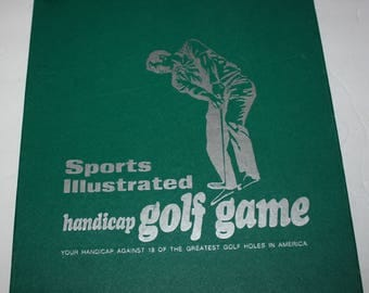 Vintage Sports Illustrated Golf Game Complete 1971