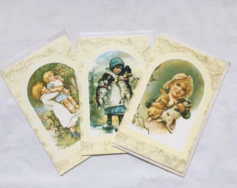 Victorian Style | Blank | Greeting | Cards