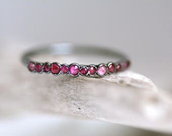 Ruby wedding ring etsy natural ruby ringby ringgold ruby ringgold ruby band ring junglespirit Image collections