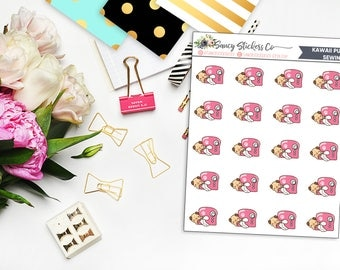 Kawaii Pug Sewing Planner Stickers | for use with Erin Condren Lifeplanner™, Happy Planner