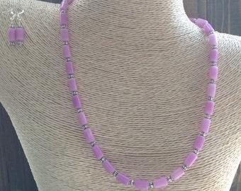 Spring Lavender Fiber Optic Set