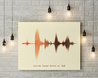 Sound Wave,Custom sound wave print,Pintable files,Custom art,Printable art,Home Decor,Instant download,Gift Idea,Printables,Custom Print