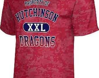 ProSphere Men's Hutchinson College Digital Tech Tee (HCC)