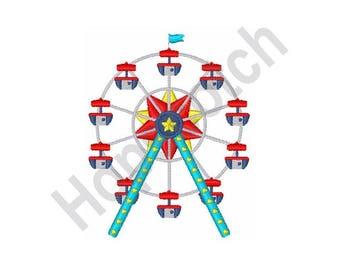 Ferris Wheel - Machine Embroidery Design