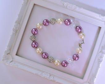 Little Girls Chunky Bubble Gum bubblegum Necklace