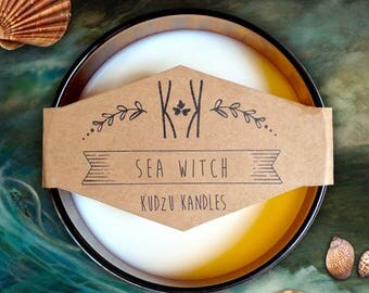 "SOY CANDLE - ""Sea Witch"""