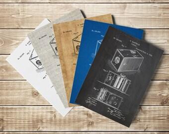 Vintage Camera, Camera Art Poster,Camera Patent Poster,Vintage Camera Decor,Brownie Camera Art,Camera Poster,Camera Patent, INSTANT DOWNLOAD