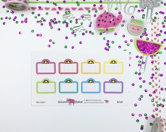 Movie marquees, stickers for the Happy Planner, Item # W431