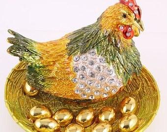 Chicken Jewelry Box