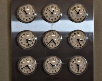 Time clock  in Different Cities Karlsson Clock